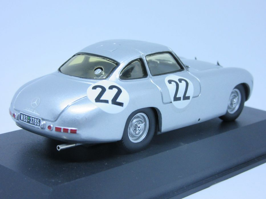 Macheta Mercedes 300 SL MaxModels 1:43 Bucuresti - imagine 6