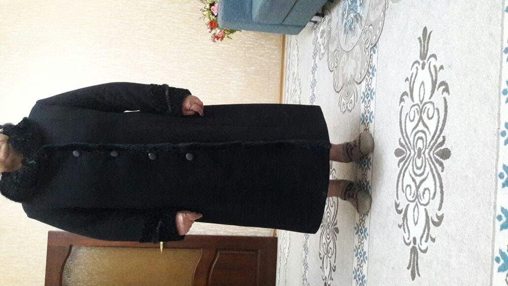 Пальто: драп-кашемир, 54 размер