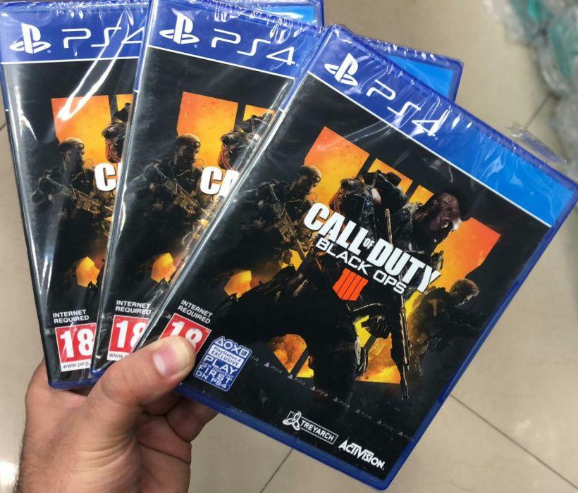 Ps4 call of Duty Black OPS lll disponivel
