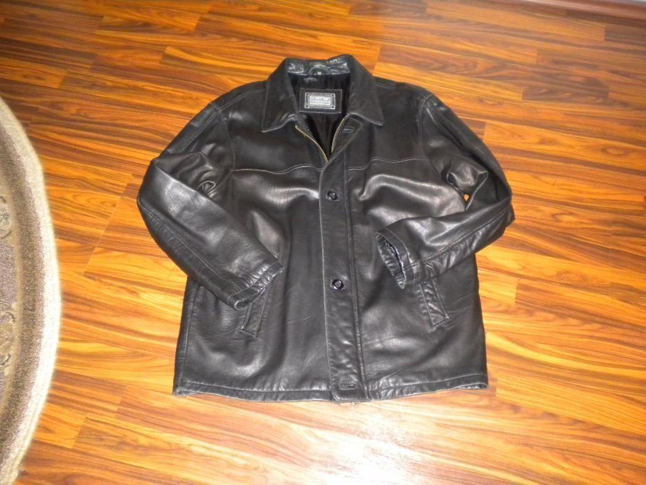 geaca din piele naturală STANFORD fashion in leather