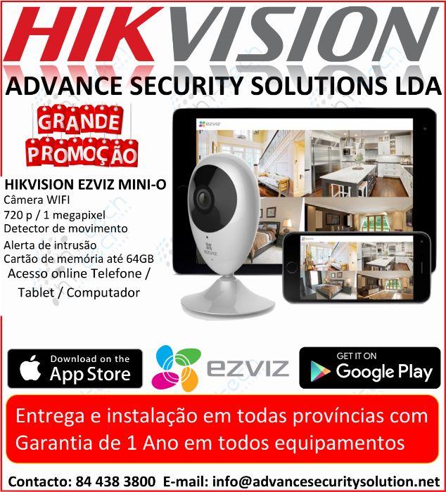 hikvision camera de segunranca wifi sem fio