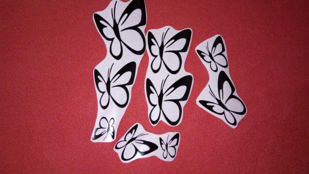 Autocolant wall stickers fluturasi 2