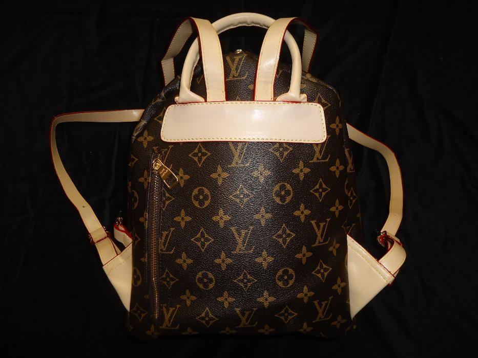 Rucsac dama 5 compartimente geanta mana umar spate femei piele eco