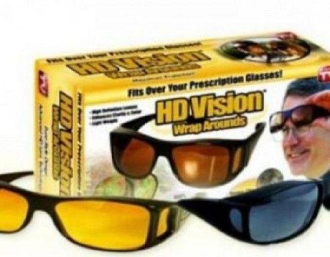 Set 2 Ochelari HD Vision pentru condus cu protectie UV