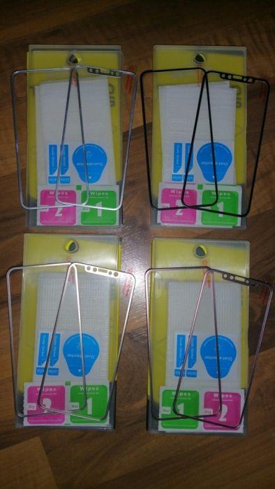 Folie sticla (set fata-spate) Iphone 7,7s,7-7s-8 Plus,X full face 3D
