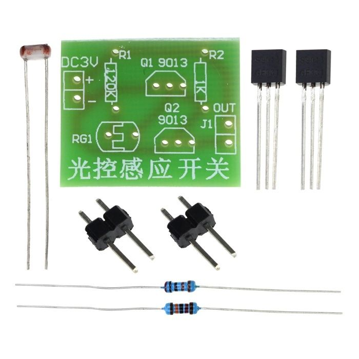 Montaj electronic senzor de lumina
