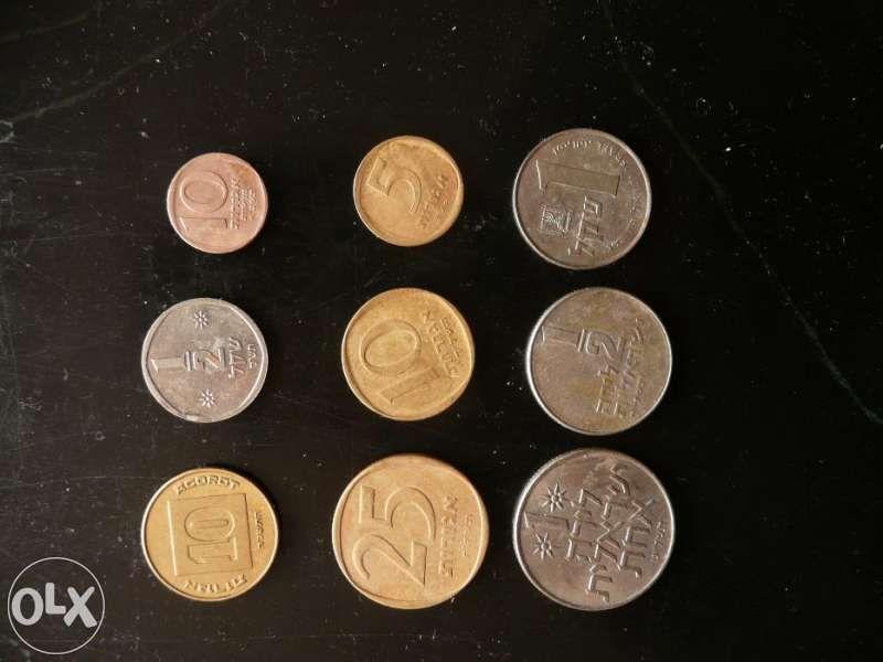 стари монети Израел