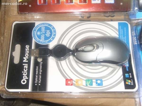 Mouse Optic pt Laptop cu fir