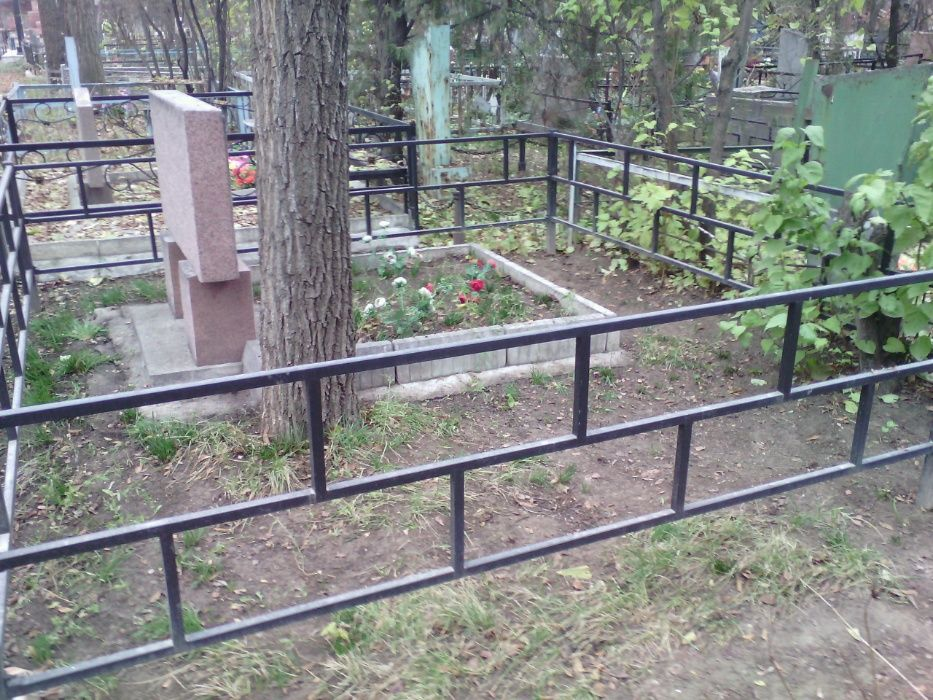 оградки для могилок