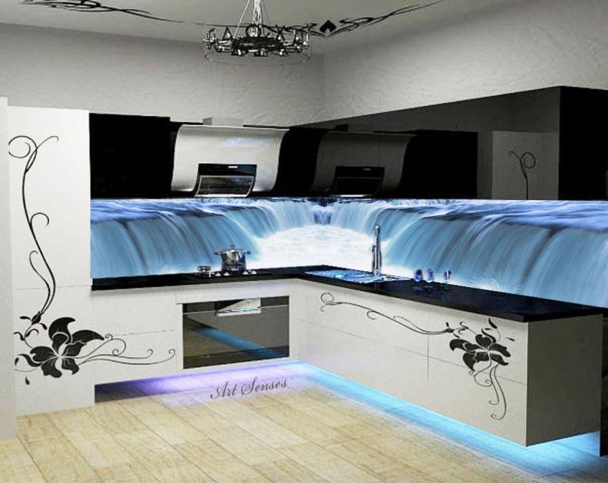 Стикер Пано - Водопад 2