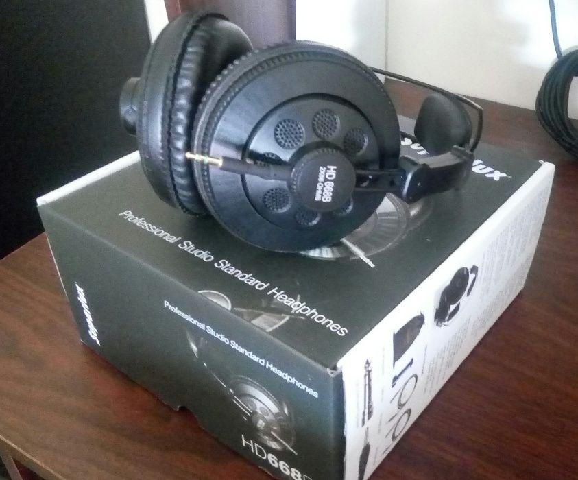 Headphone de Estúdio Marca SuperLux para mixagem e masterização