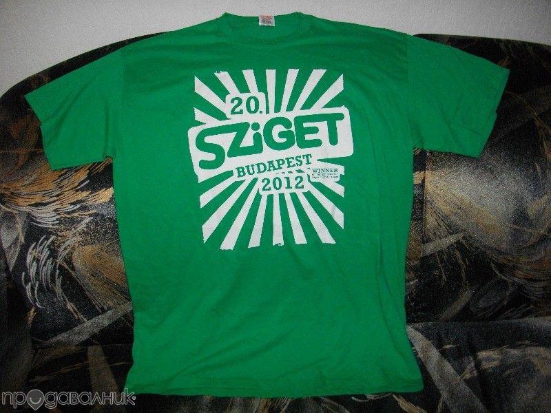 Тениска Sziget, размер L