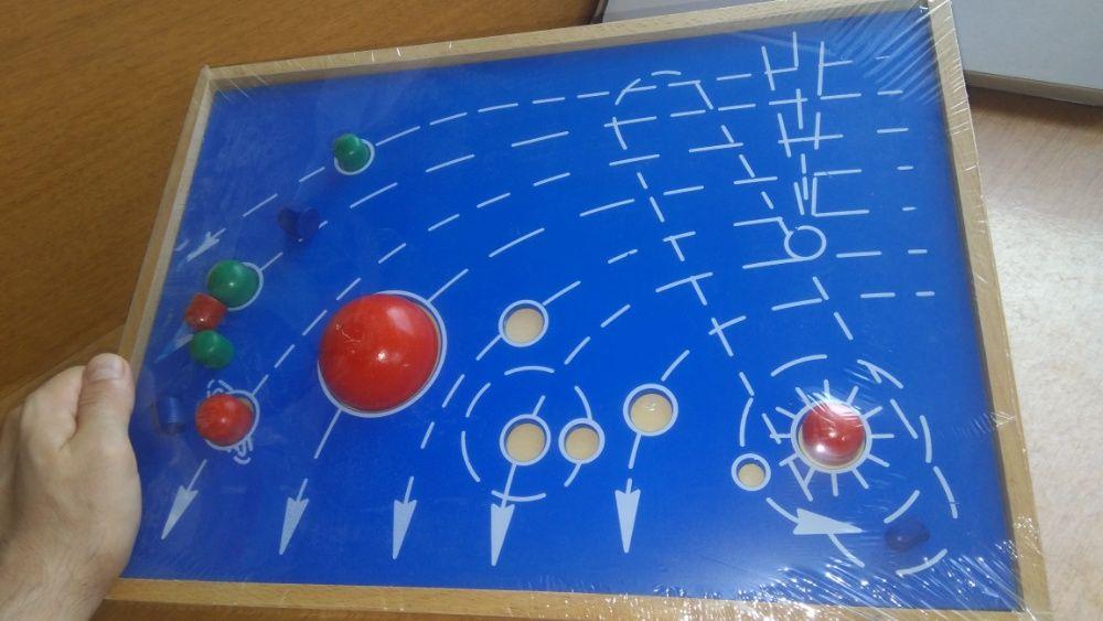 Монтесори Дървени Числови Летви синьо-червени пръчки стикове гр. Бургас - image 11
