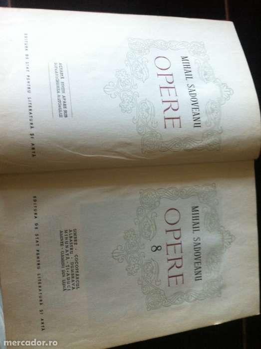 Vand 2 volume Opere Sadoveanu