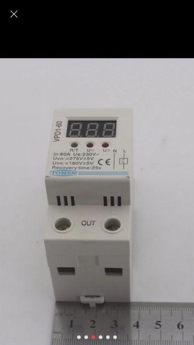 Електронна автоматична токова защита от високо и ниско напрежение