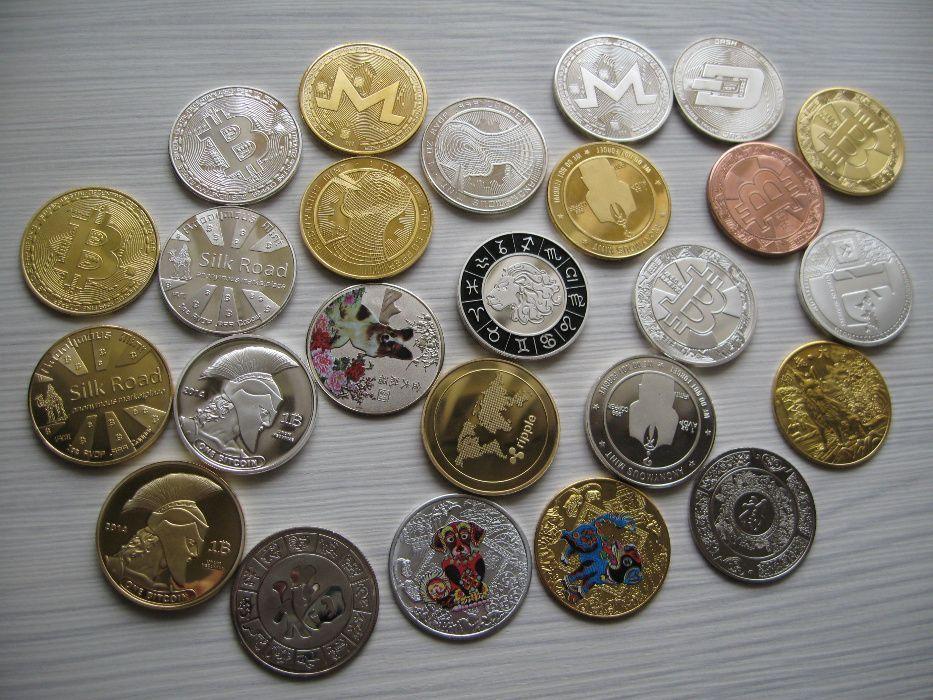 Колекционерска монета Биткойн, Година на кучето, Монеро, Даш, Лайткойн