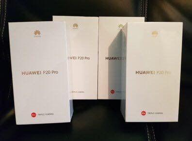 Huawei P 20 pro dous New