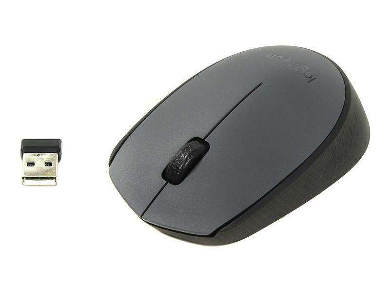 Мишка Безжична Logitech M170 Gery Mini 1000dpi Сива-26.90лв; Logitech
