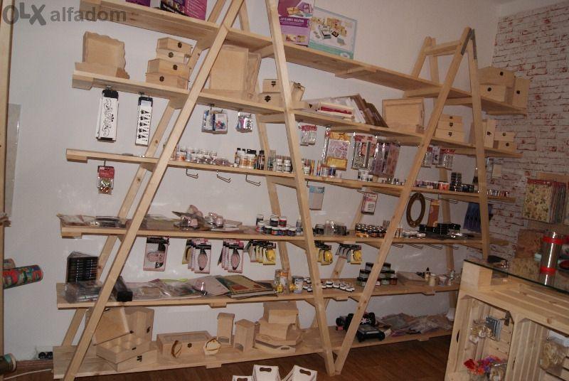 Обзавеждане за арт-работилница и магазин за декорации