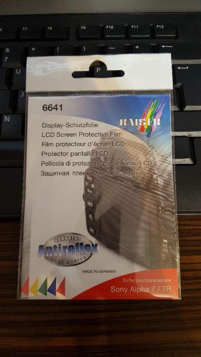 Folie protectie Kaiser 6641 pt Sony Alpha 7 / 7R / A7 / A7R
