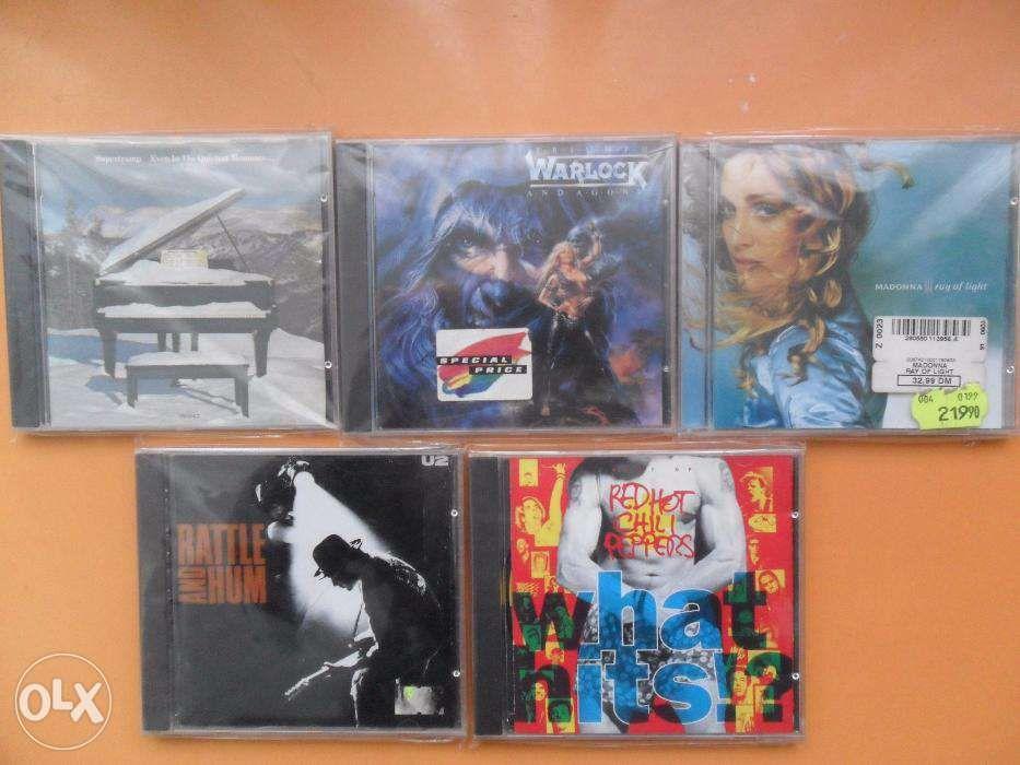 CD-uri originale (compact disc) cu muzica
