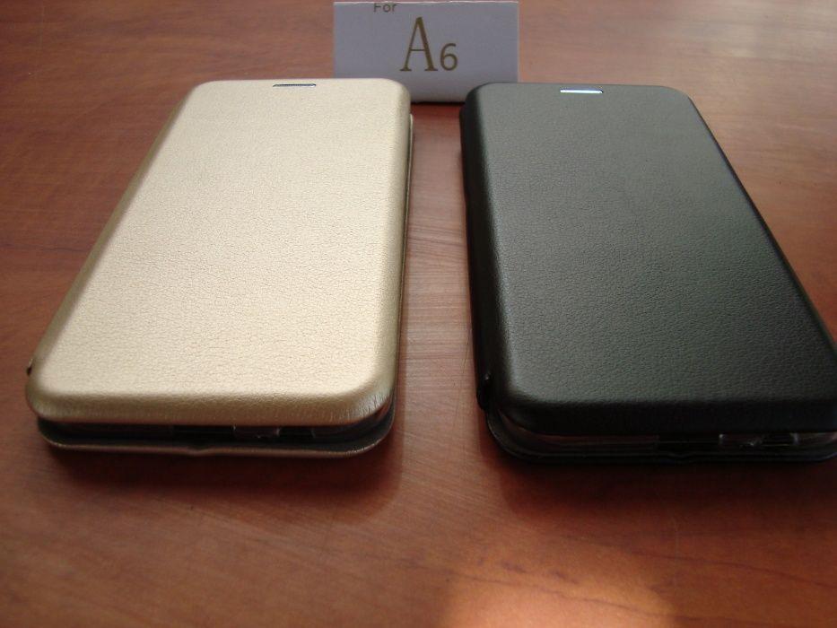 Husa flip cover compatibila ptr. l Samsung Galaxy A6 2018