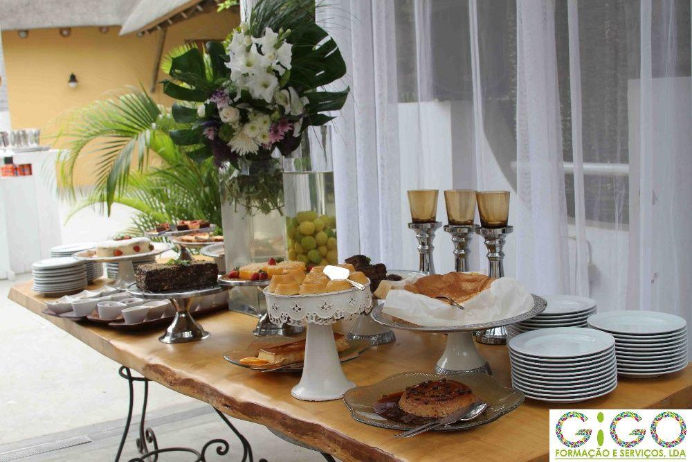 Decoração de eventos, Buffet e serviços de catering