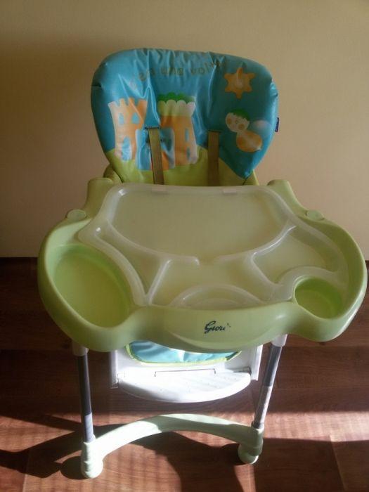 Детска количка Hauck трио сет (в три части)+ детско столче за хранене