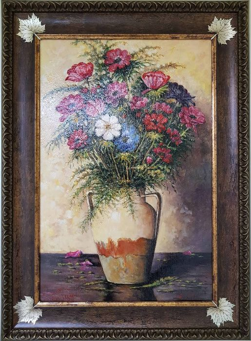 "Маслена картина ""Естествено"" италиански художник"
