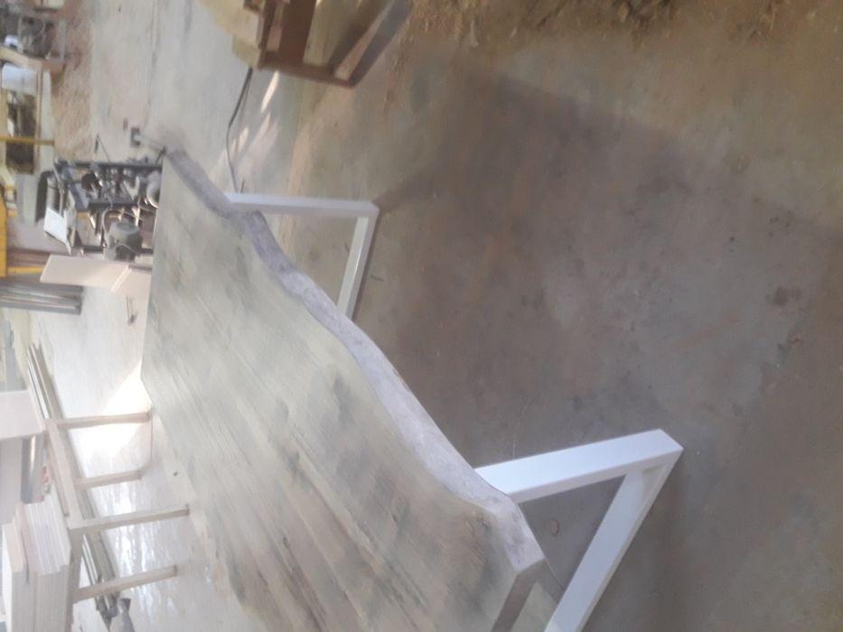 Трапезна маса от дъб(състарена) гр. Троян - image 3