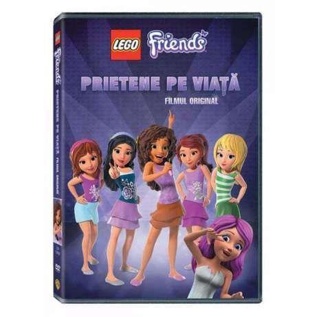 Lego Friends: Prietene pe Viata - DVD desene animate dublate romana