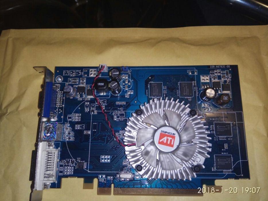 Placa video Sapphire x1550: -Dispunde de 512M DDR2 PCI-E.
