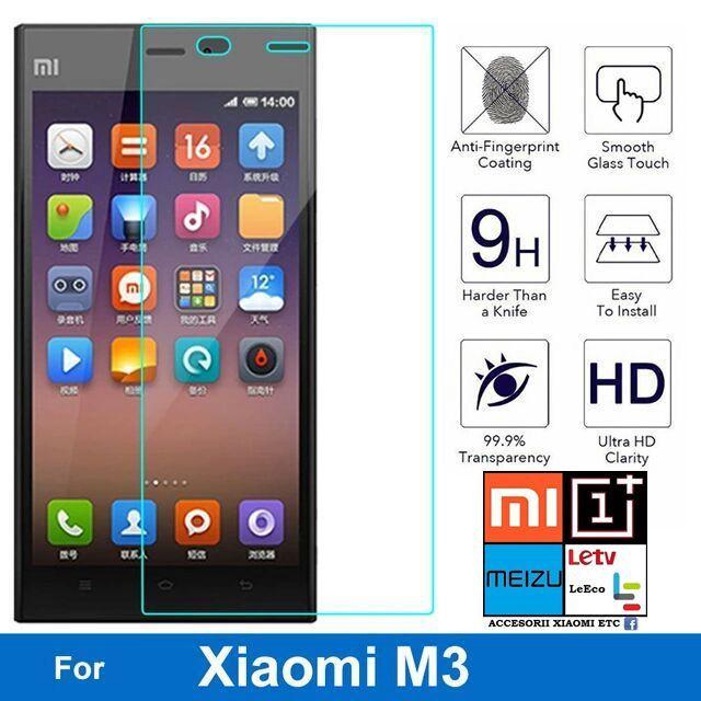 Folie Sticla Xiaomi Mi-3, Xiaomi Mi-4.