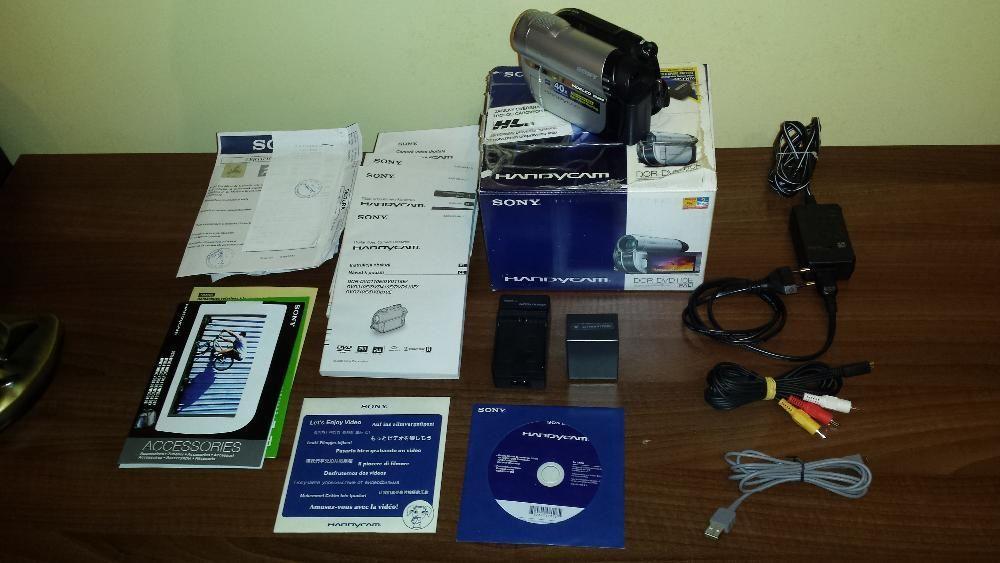 Camera video Sony DCR-DVD110E handycam + 1 acumulator li-ion NP-FH100