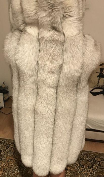 Дамски елек сребърна лисица
