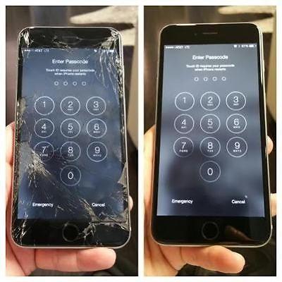 Inlocuire,schimbare geam, sticla iPhone 6,6 Plus,6S, 6S plus,7,7plus