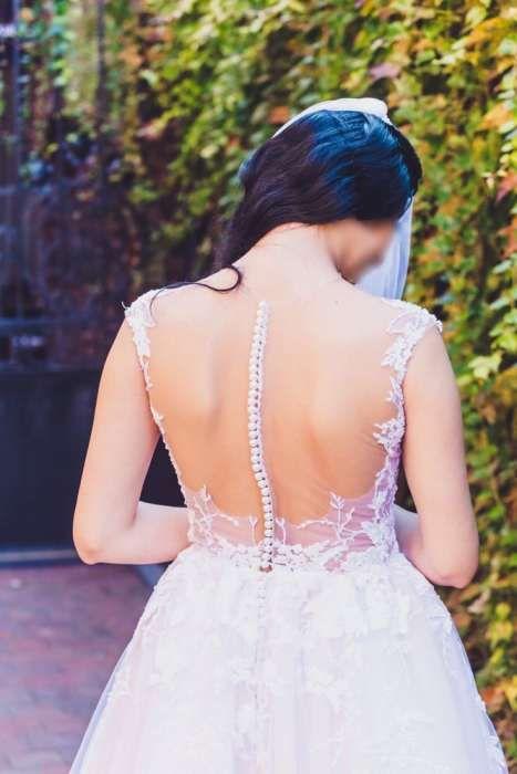 Rochie de mireasa creație Ioana Calin Nude Ivory
