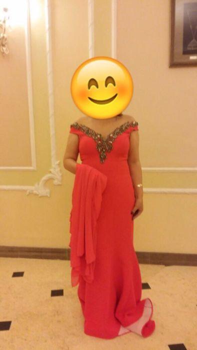 Супервечернее турецкое платье. Камни сваровские