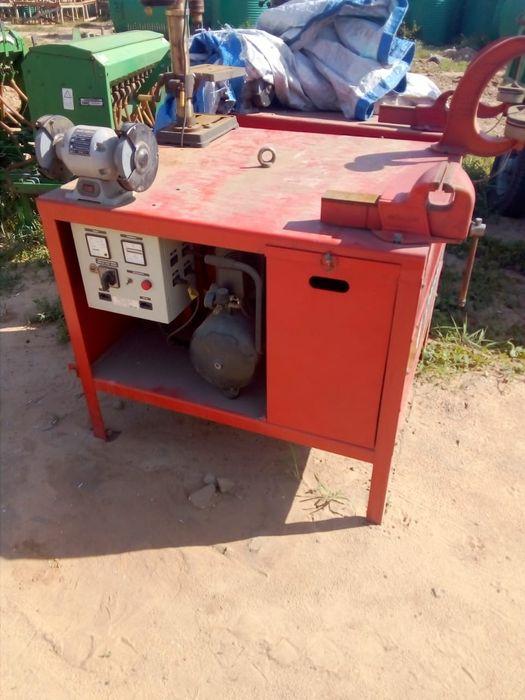 Oficina rural (máq de soldar, compressor etc.) Explore o seu tractor