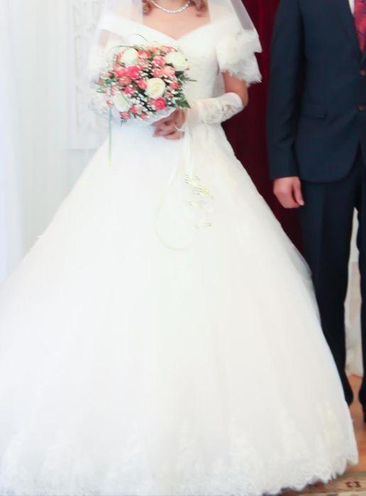Свадебное платье. Продажа либо прокат.