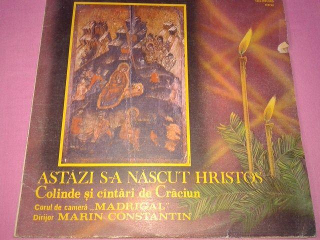 Disc vinil cu COLINDE DE CRACIUN /corul Madrigal