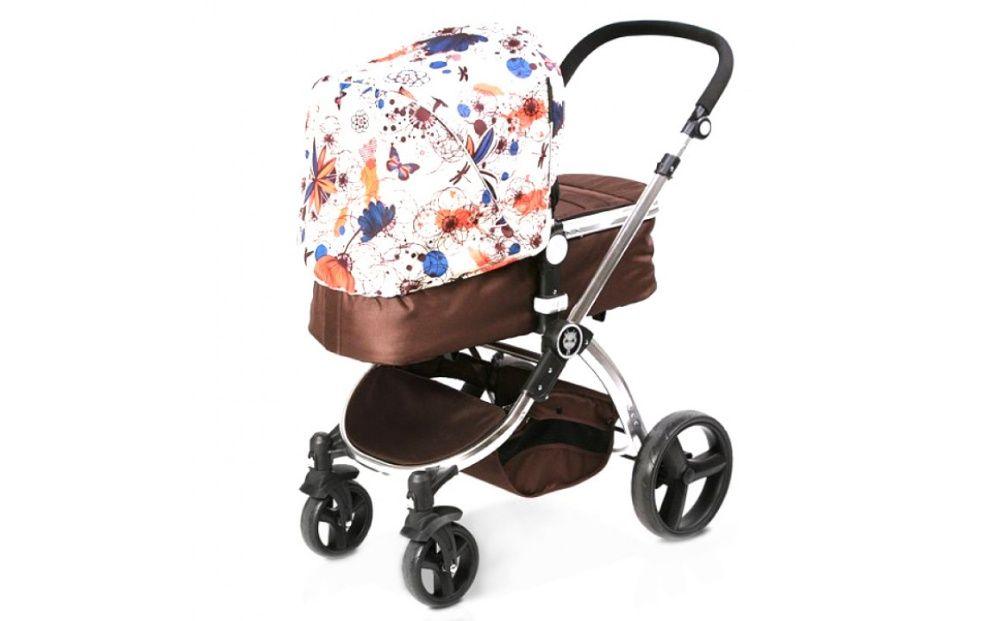 бебешка количка комбинирана 2 в 1 нов модел