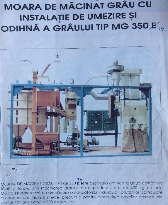 Vand Moara de grau - 400 kg/ora