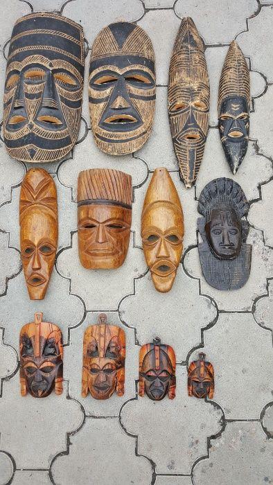 Продам коллекцию африканских масок