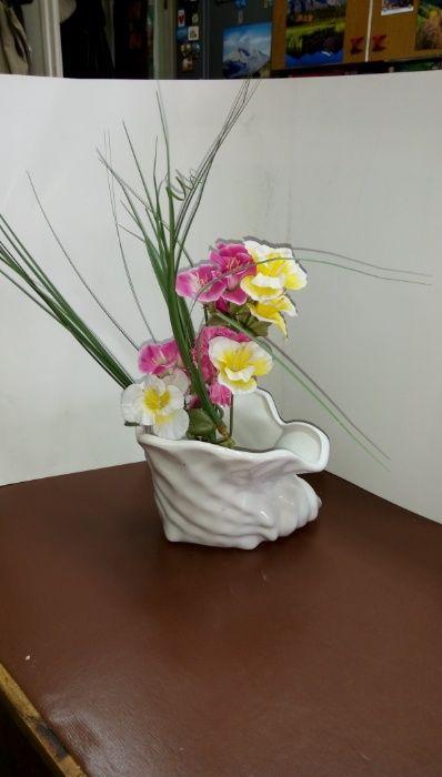 Ваза или декоративна купа с формата на раковина гр. София - image 8