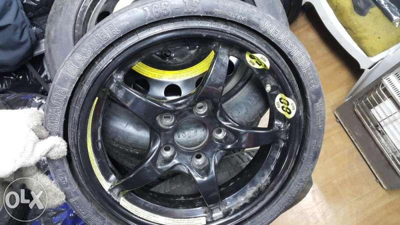 резервна гума патерица сгъваема 15,16,17,18, 19цола за мерцедес и ауди