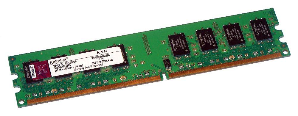 Memorii RAM Kingston 2GB DDR2 800MHz PC2-6400 DIMM