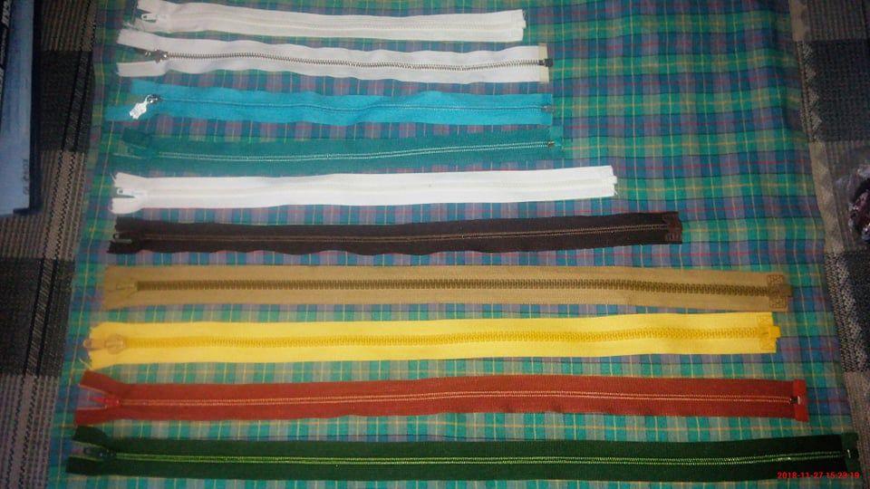 Делими ципове, различни цветове и размери