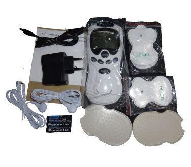 Aparat electrostimulare fizioterapie masaj Intretinere ! 4 electrozi !