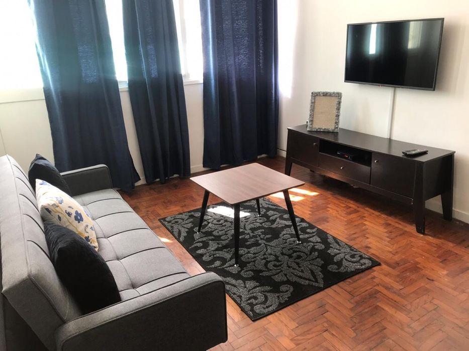 Vende se apartamento t2 luxuosa e mobilada c park 6car na av24 d julho